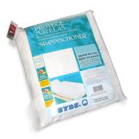 Protège matelas absorbant Antonin - blanc - 2x90x210 Spécial lit articulé - TR - Grand Bonnet 30cm