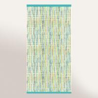 Drap de bain 100x150 cm 100% coton 500 g/m2 LUCA Bleu