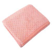 Drap de bain 100x150 cm SHIBORI mosaic Orange 100% coton 500 g/m2