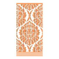 Drap de bain 100x150 cm 100% coton 500 g/m2 TOSCA BAROQUE Orange