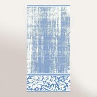 Drap de bain 100x150 cm 100% coton 500 g/m2 TOSCA CLASSIQUE Bleu