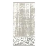 Drap de bain 100x150 cm 100% coton 500 g/m2 TOSCA CLASSIQUE Gris