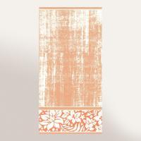 Drap de bain 100x150 cm 100% coton 500 g/m2 TOSCA CLASSIQUE Orange