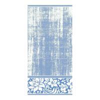Drap de bain 70x140 cm 100% coton 500 g/m2 TOSCA CLASSIQUE Bleu