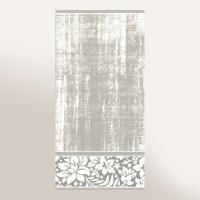 Drap de bain 70x140 cm 100% coton 500 g/m2 TOSCA CLASSIQUE Gris