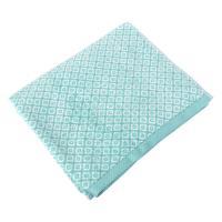 Drap de douche 70x140 cm SHIBORI mosaic Vert 100% coton 500 g/m2
