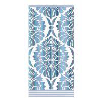 Drap de douche 70x140 cm 100% coton 500 g/m2 TOSCA BAROQUE Bleu