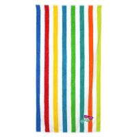 Drap de plage 75x150 cm éponge velours 480 g/m² SALVANO Lunettes arc en ciel Multicolore