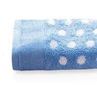 Drap de douche 70x140 cm DOMINO Bleu 550 g/m2