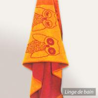 Drap de plage 85x200 cm EULE Orange 480 g/m2