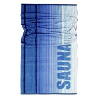 Drap de plage 85x200 cm NORDIC Bleu 480 g/m2