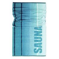 Drap de plage 85x200 cm NORDIC Vert 480 g/m2