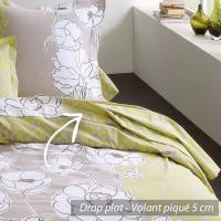 Drap plat 180x290 cm 100% coton KATE * DESTOCKAGE *