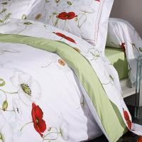 Drap plat 180x290 cm Percale pur coton SEDUCTION