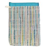Gant de toilette 16x21 cm 100% coton 500 g/m2 LUCA Bleu