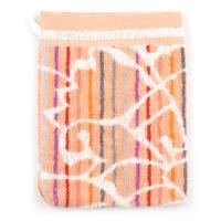 Gant de toilette 16x21 cm 100% coton 500 g/m2 TOSCA BAROQUE Orange