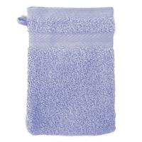 Gant de toilette 16x21 cm ROYAL CRESENT Bleu Lavande 650 g/m2