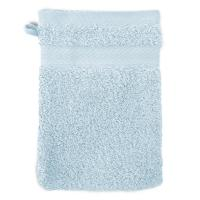 Gant de toilette 16x21 cm ROYAL CRESENT Bleu Pâle 650 g/m2