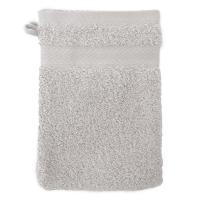 Gant de toilette 16x21 cm ROYAL CRESENT Gris Platine 650 g/m2