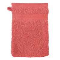 Gant de toilette 16x21 cm ROYAL CRESENT Rouge Terre Cuite 650 g/m2