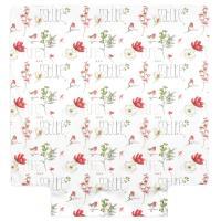 Housse de couette 200x200 cm Percale pur coton PURE NATURE Blanc