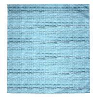 Housse de couette 260x240 cm Satin de coton LOUVRE Bleu clair