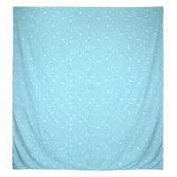 Housse de couette 260x240 cm Satin de coton PANTHEON Bleu clair