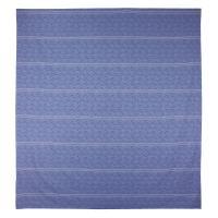 Housse de couette 280x240 cm Satin de coton VENDOME Bleu foncé