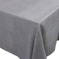 Nappe rectangle 150x300 cm Jacquard 100% polyester LOUNGE perle
