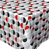 Nappe rectangle 150x350 cm imprimée 100% polyester SMILE