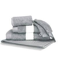 Parure de bain 6 pièces PURE Argent 550 g/m2