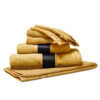 Parure de bain 7 pièces ROYAL CRESENT Jaune Quartz 650 g/m2
