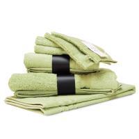 Parure de bain 7 pièces ROYAL CRESENT Vert Pastel 650 g/m2