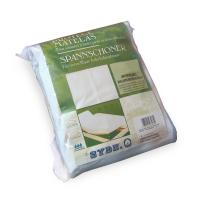 Protège matelas imperméable 2x100x220 ANTONY spécial lit articulé TPR - Molleton enduction acrylique - Bonnet 30cm