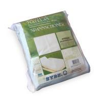 Protège matelas imperméable 2x90x190 ANTONY - Spécial lit articulé TR - Molleton enduction acrylique