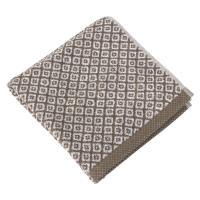 Serviette de toilette 50x100 cm SHIBORI mosaic Beige 100% coton 500 g/m2