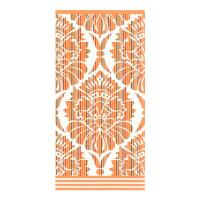 Serviette de toilette 50x100 cm 100% coton 500 g/m2 TOSCA BAROQUE Orange