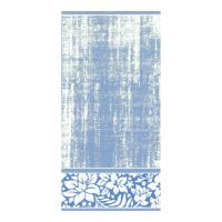 Serviette de toilette 50x100 cm 100% coton 500 g/m2 TOSCA CLASSIQUE Bleu