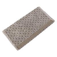 Serviette invité 33x50 cm SHIBORI mosaic Beige 500 g/m2