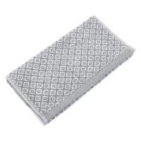 Serviette invité 33x50 cm SHIBORI mosaic Gris 500 g/m2