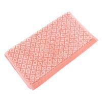 Serviette invité 33x50 cm SHIBORI mosaic Orange 500 g/m2