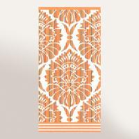 Serviette invité 33x50 cm 100% coton 500 g/m2 TOSCA BAROQUE Orange
