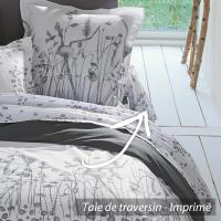 Taie de traversin 200x43 cm 100% coton LOUNA * DESTOCKAGE *