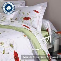 Taie de traversin 140x43 cm Percale pur coton SEDUCTION
