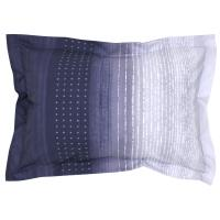 Taie d'oreiller 70x50 cm Percale pur coton JAZZ Bleu