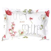 Taie d'oreiller 70x50 cm Percale pur coton PURE NATURE Blanc