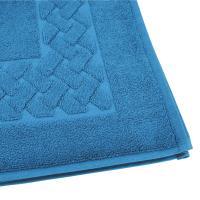 Tapis de bain 50x80 cm ROYAL CRESENT Bleu Céleste 850 g/m2