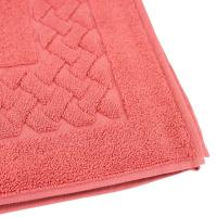 Tapis de bain 50x80 cm ROYAL CRESENT Rouge Terre Cuite 850 g/m2