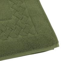 Tapis de bain 50x80 cm ROYAL CRESENT Vert Bouteille 850 g/m2