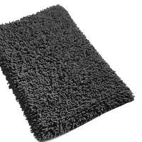 Tapis de bain 50x80 cm CHENILLE Anthracite 1800 g/m2